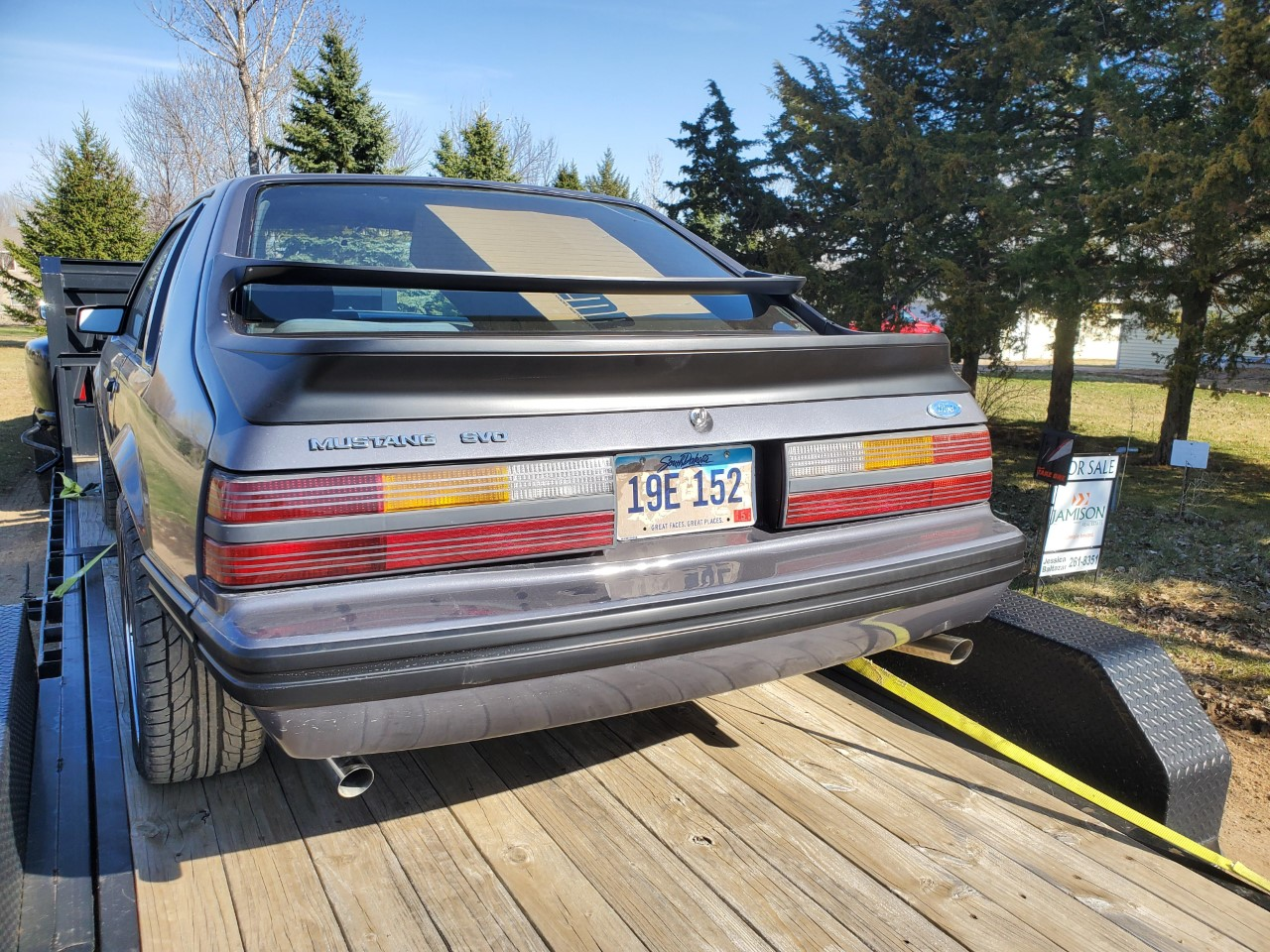 Name:  Rear on trailer.jpg