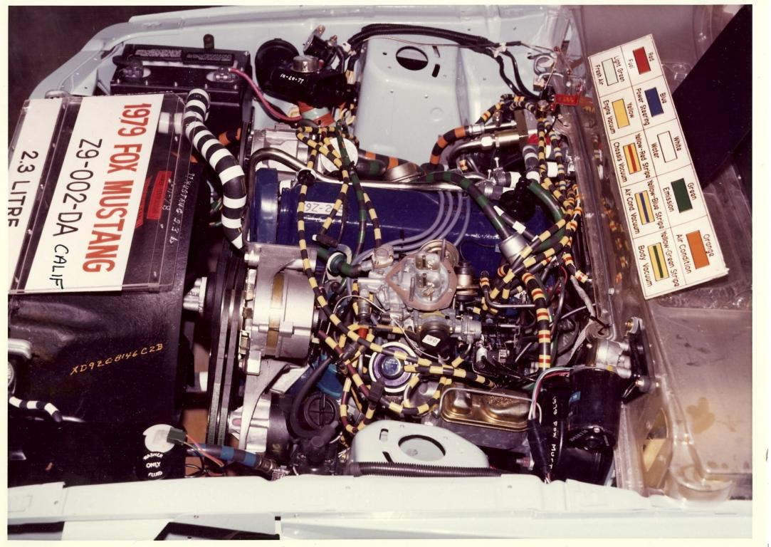 Name:  1979 Mustang 2.3l engine compartment #3.jpg Views: 167 Size:  149.0 KB