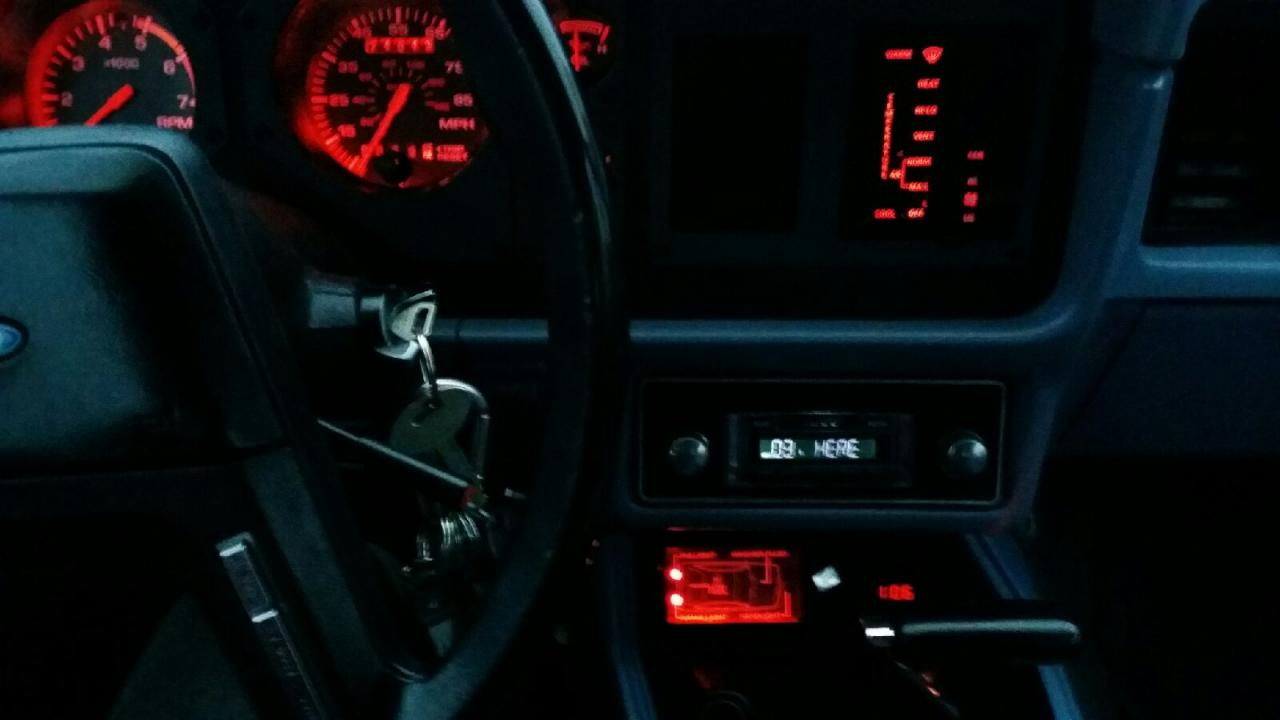 Name:  Mustang message center lit red.jpg Views: 63 Size:  53.2 KB